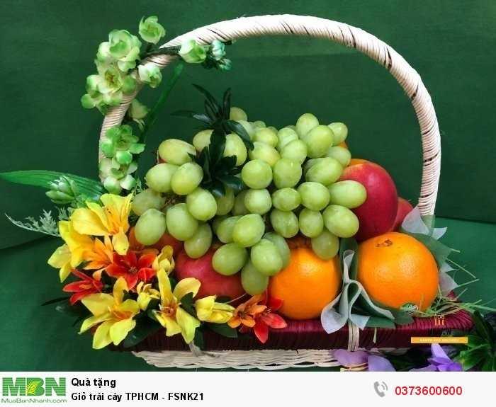 Mua giỏ trái cây TPHCM - FSNK21
