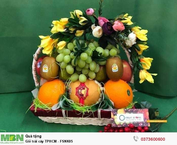 Giỏ trái cây TPHCM - FSNK050