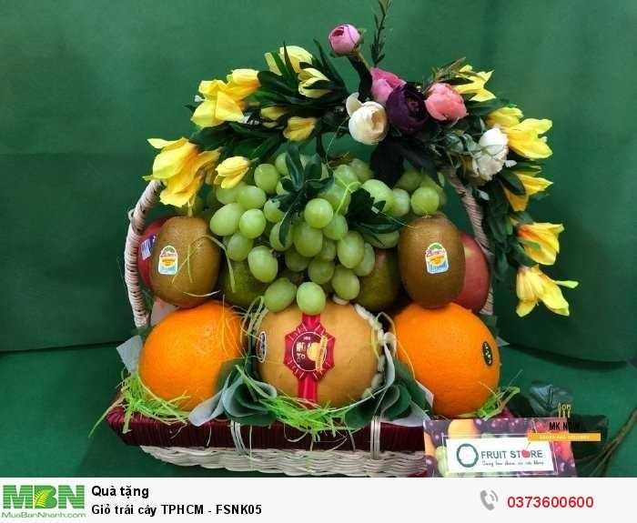 Đặt giỏ trái cây TPHCM - FSNK05
