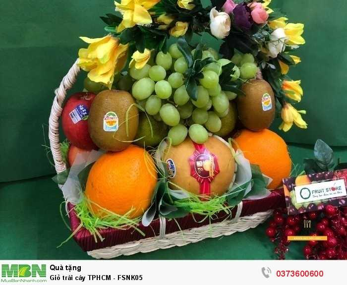 Mua giỏ trái cây TPHCM - FSNK052