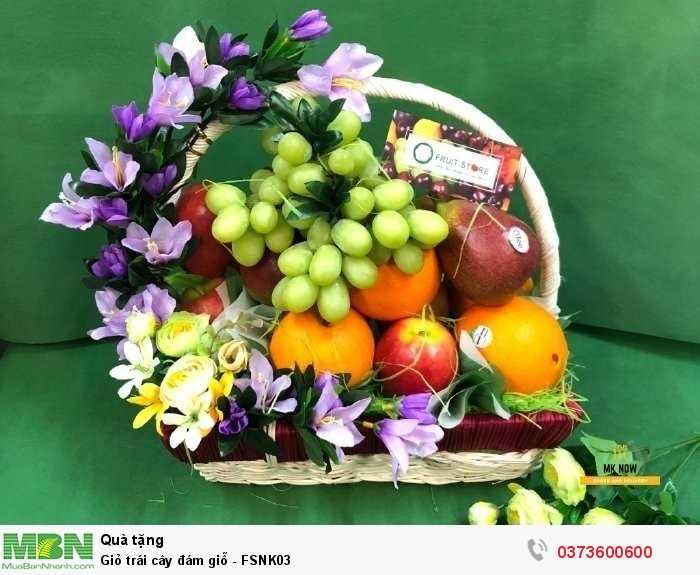 Giỏ trái cây đám tang - FSNK030