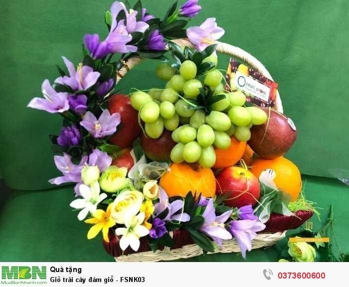 Giỏ trái cây đám giỗ - FSNK031