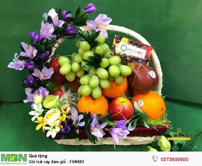 Giỏ trái cây cúng giỗ - FSNK033