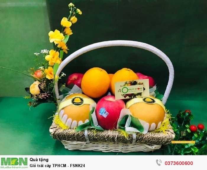 Đặt giỏ trái cây đẹp TPHCM - FSNK24