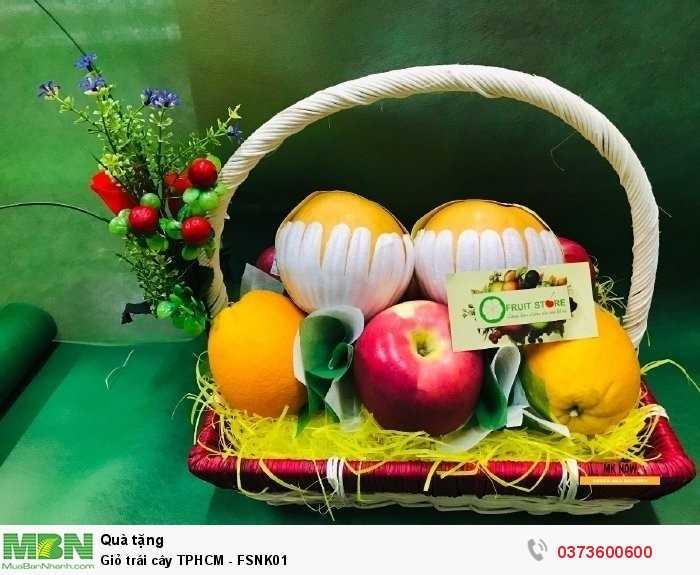Đặt giỏ trái cây TPHCM - FSNK01