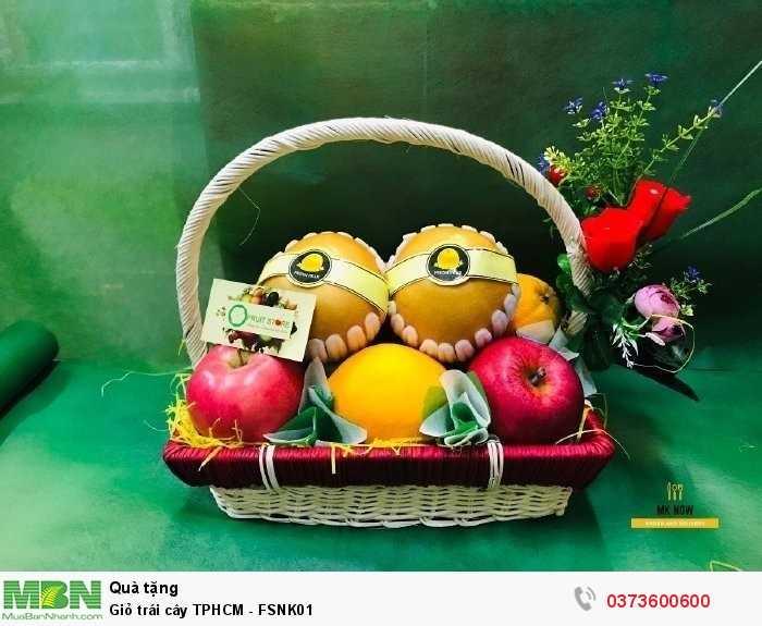 Mua giỏ trái cây TPHCM - FSNK01