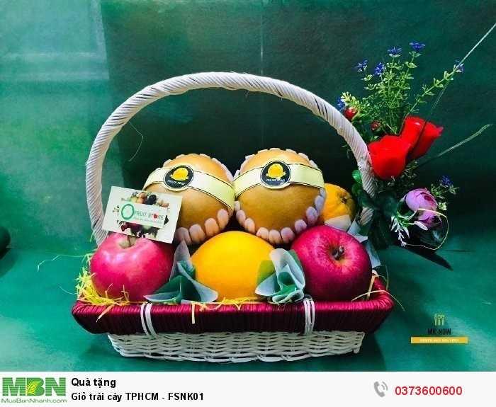 Shop giỏ trái cây TPHCM - FSNK01