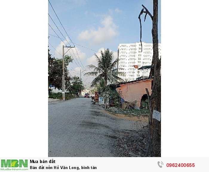 Bán đất nền Hồ Văn Long, Bình Tân