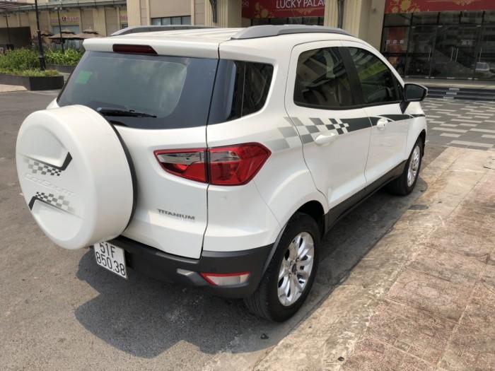 Bán Ford Ecosport Titanium 1.5AT màu trắng số tự động sản xuất 2017 biển Sài Gòn 1 chủ