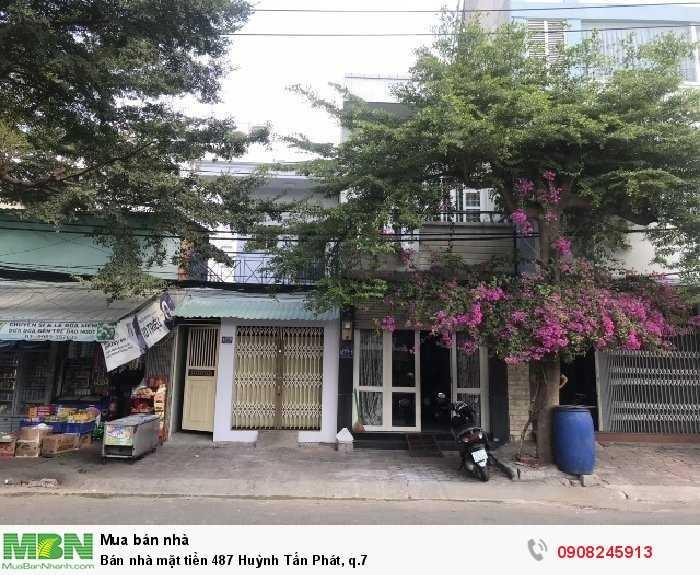Bán nhà mặt tiền 487 Huỳnh Tấn Phát, q.7