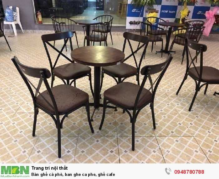 Bàn ghế cà phê, ban ghe ca phe, ghế cafe1