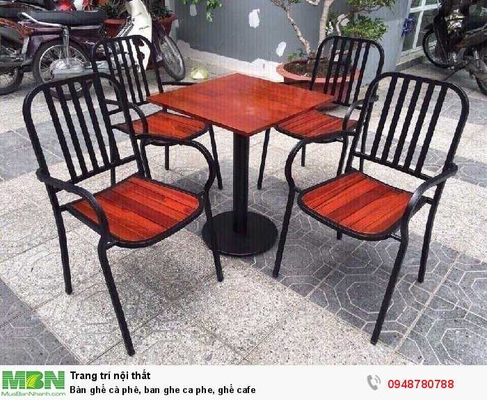 Bàn ghế cà phê, ban ghe ca phe, ghế cafe2