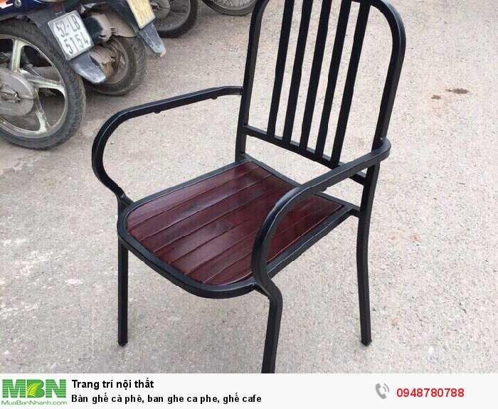 Bàn ghế cà phê, ban ghe ca phe, ghế cafe4