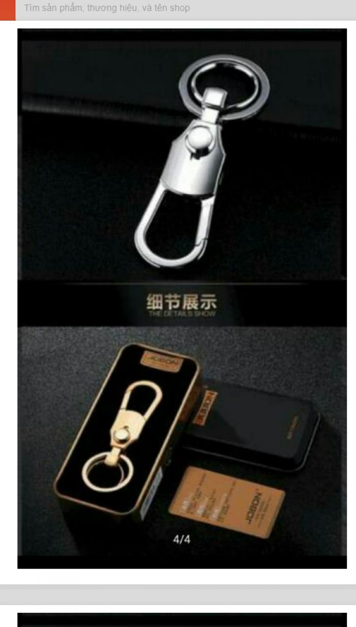 Móc Khoá Xe Hơi Jobon Car Keychain Cao Cấp (Siêu Hot) 2