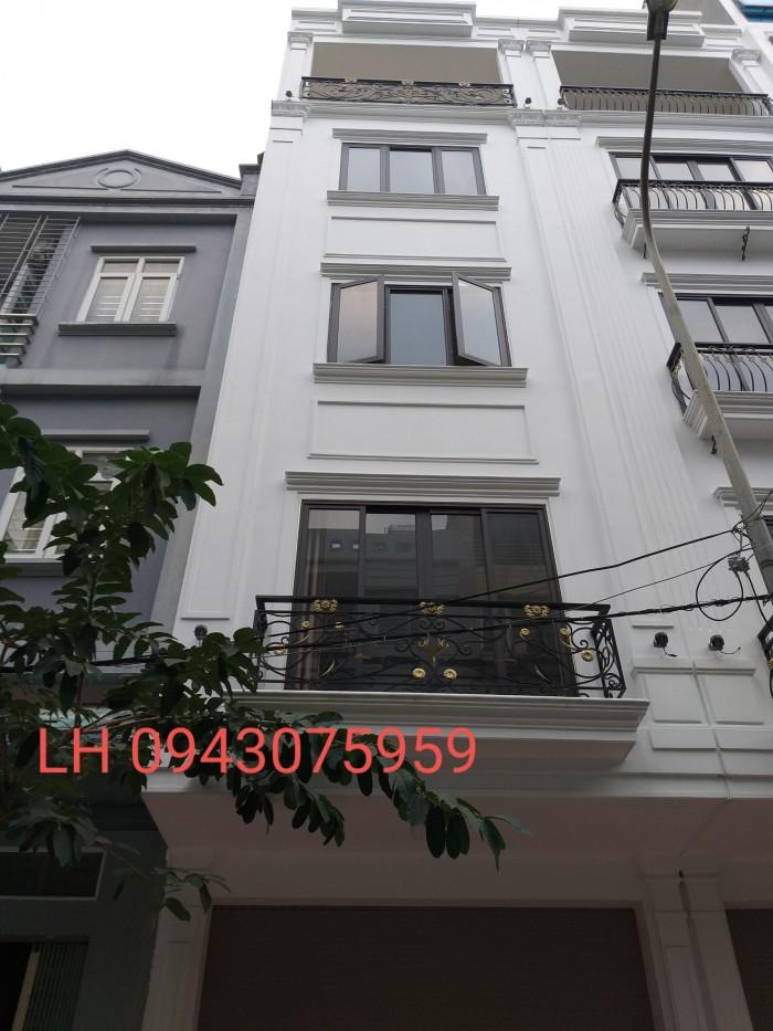 Bán LK cao cấp Văn Phú, Hà Đông, ngay sát đường Quang Trung, 50m2, 5 tầng, full nội thất