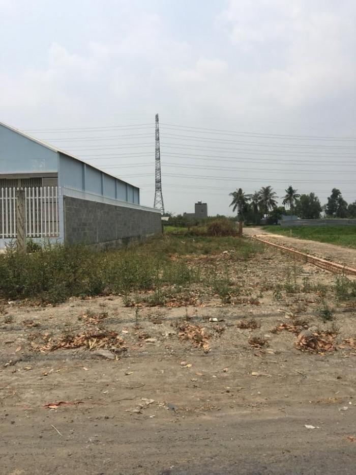 Đất khu dân cư Đông Thạnh .huyện Hóc Môn