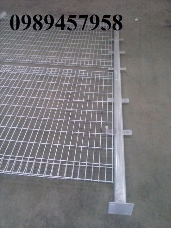 Hàng rào lưới thép phi 5 50x150, 50x200, hàng rào bảo vệ kho, hàng rào nhà xe6