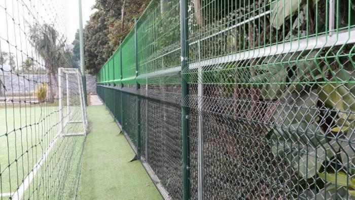 Hàng rào lưới thép phi 5 50x150, 50x200, hàng rào bảo vệ kho, hàng rào nhà xe5