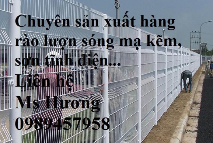 Hàng rào lưới thép phi 5 50x150, 50x200, hàng rào bảo vệ kho, hàng rào nhà xe2