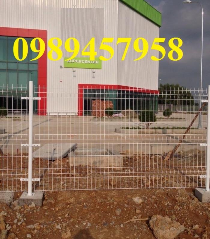Hàng rào lưới thép phi 5 50x150, 50x200, hàng rào bảo vệ kho, hàng rào nhà xe