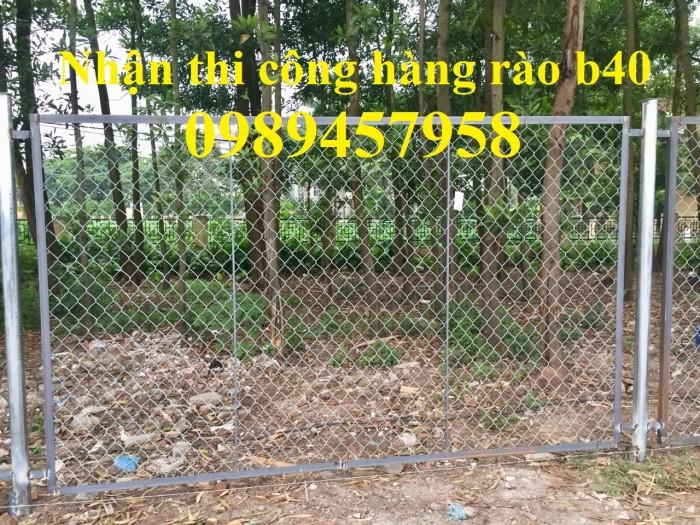 Hàng rào lưới thép b40 mạ kẽm, b40 bọc nhựa3