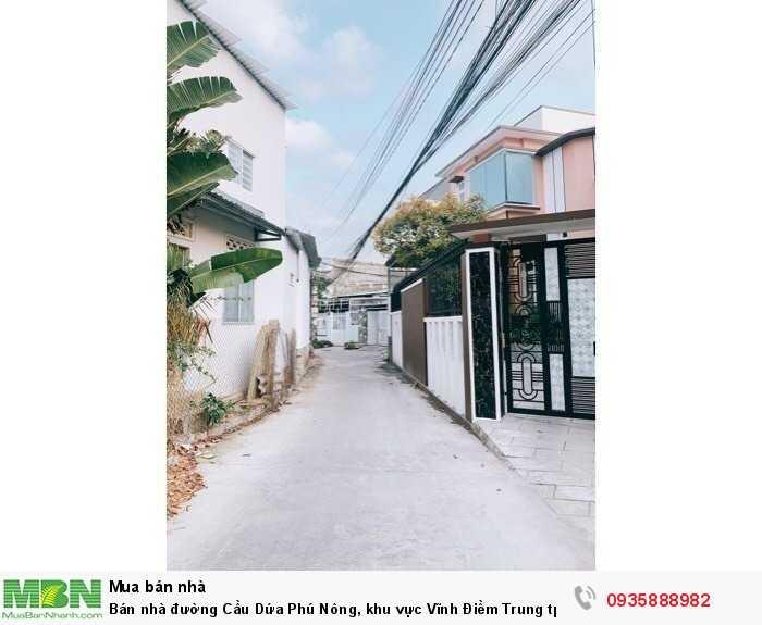 Bán nhà đường Cầu Dứa Phú Nông, khu vực Vĩnh Điềm Trung tp Nha Trang , cách 23/10 chỉ 300m Giá 1 tỷ 380