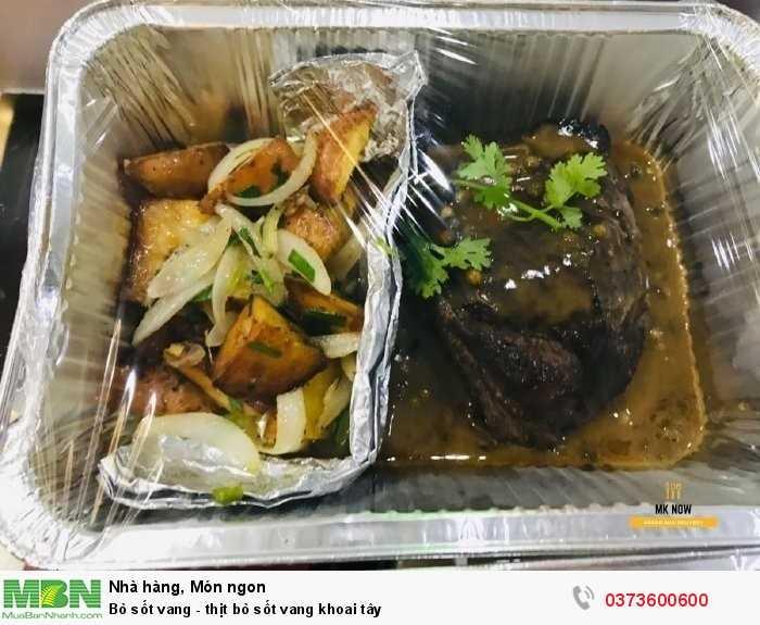 thịt bò sốt vang1