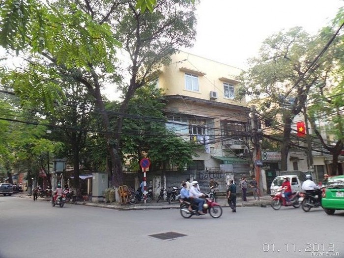 Bán nhà mặt phố Tăng Bạt Hổ,160m2, MT 12m, kinh doanh đỉnh