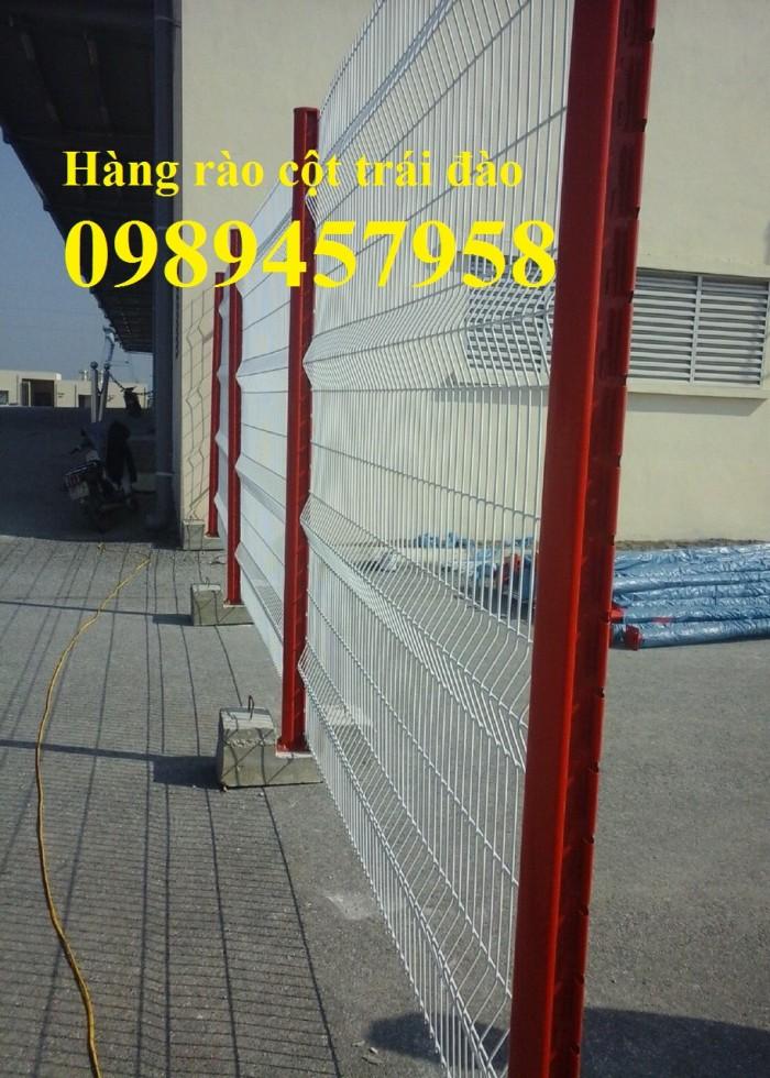 Sản xuất hàng rào cột trái đào, hàng rào cột hộp2