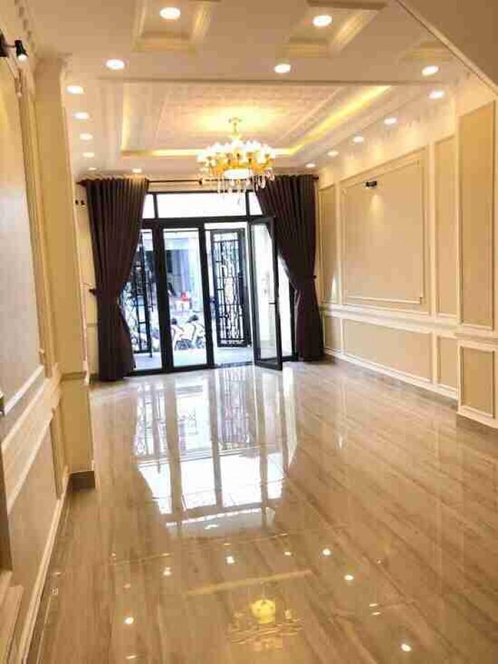 Bán nhà mt đường 41,  Tân Qui, 4x20m, trệt, 3 lầu, nhà đẹp nư hình