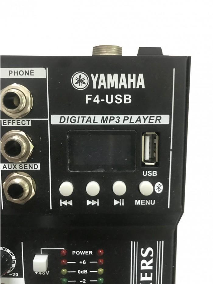 Mixer karaoke bluetooth YAMAHA F4-USB là dòng sản phẩm mới của YAMAHA,0