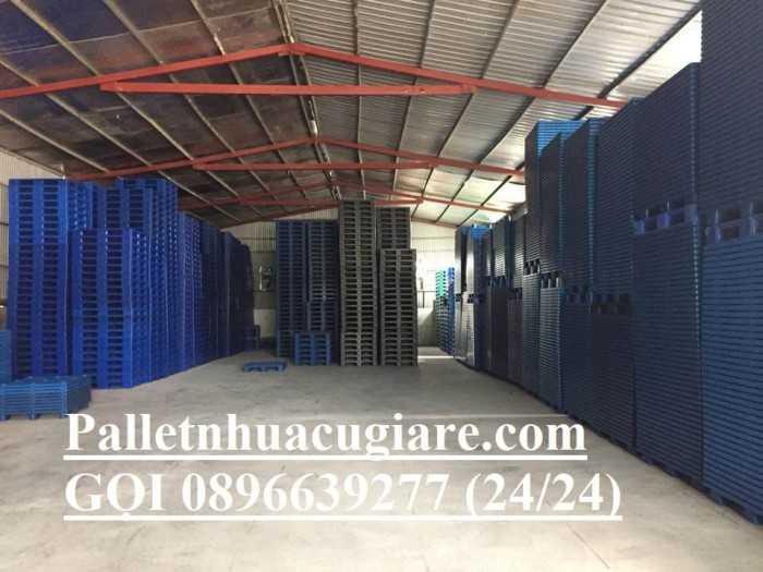 Kích thước pallet nhựa cũ - Pallet nhựa cũ TPHCM - Hotline: 0896639277 (24/24)