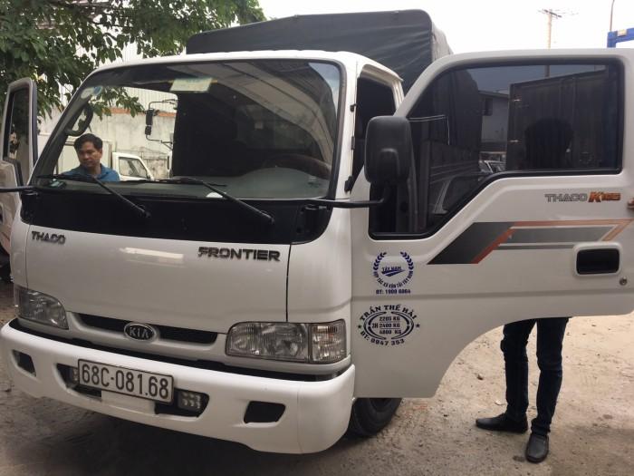Kia k165 sản xuất 2016 thùng mui bạt