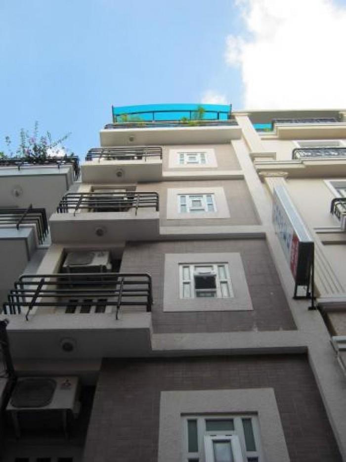 Định cư nước ngoài bán gấp nhà 204m2 mt Nguyễn Du Gò Vấp, 1 trệt 4 lầu