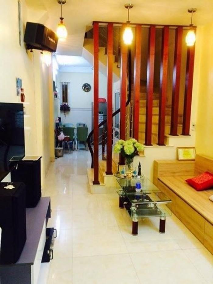 Bán nhà Đẹp ngõ chợ Khâm Thiên DT 42m2 x 4 Tầng