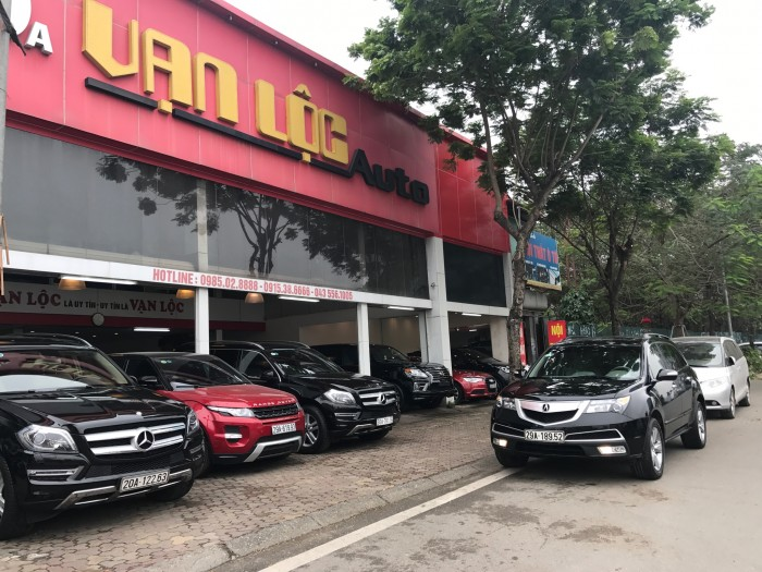 Acura MDX 2011 màu đen 8