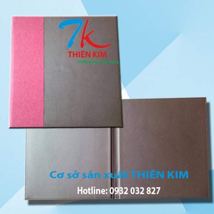 Nơi sản xuất bìa menu da, bìa menu vải, sản xuất bìa menu theo yêu cầu,0