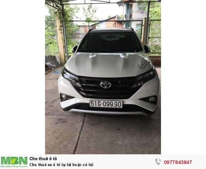 Cho thuê xe ô tô tự lái hoặc có tài