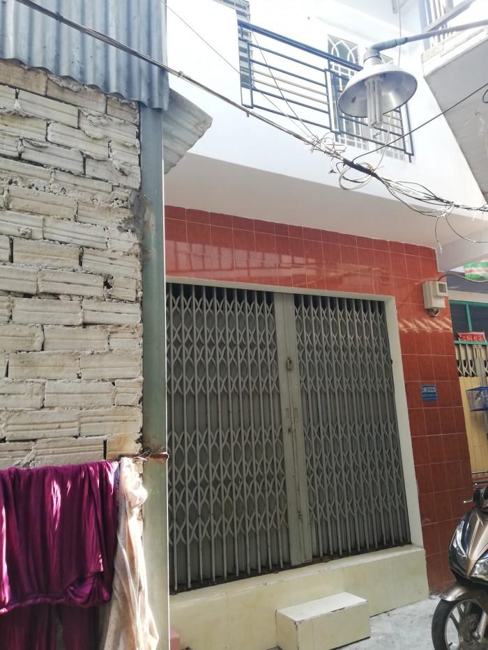 Bán nhà hẻm 240 Nguyễn Văn Luông, P11, Q6. DT 23m2, 3,8mx6,8m, yên tĩnh, an ninh