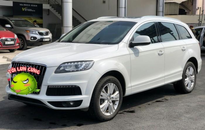Bán Audi Q.7 3.0 Quattro 2015 màu trắng nhập Slovakia 2015 biển Thủ Đô xe chuẩn đẹp 14
