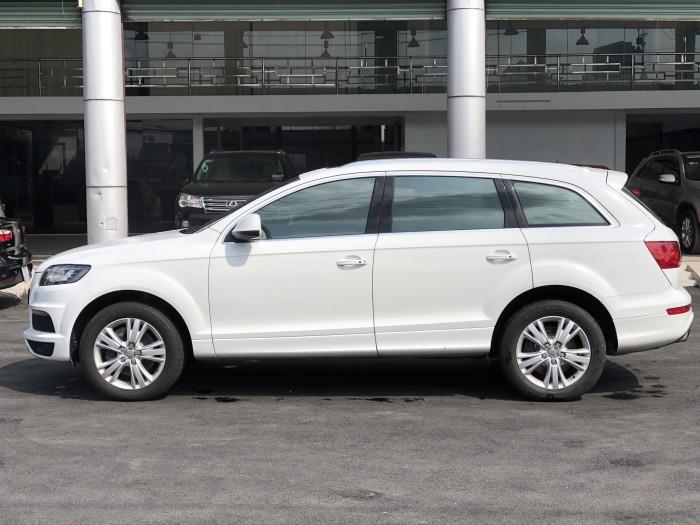 Bán Audi Q.7 3.0 Quattro 2015 màu trắng nhập Slovakia 2015 biển Thủ Đô xe chuẩn đẹp