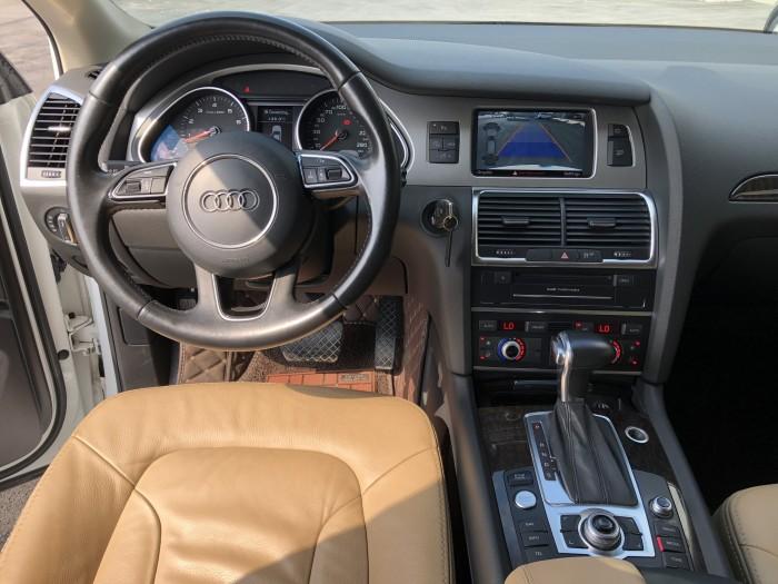 Bán Audi Q.7 3.0 Quattro 2015 màu trắng nhập Slovakia 2015 biển Thủ Đô xe chuẩn đẹp 9