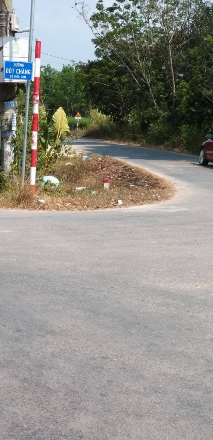 Đất mặt tiền đường nhựa 20m, khu dân cư hiện hữu đông đúc
