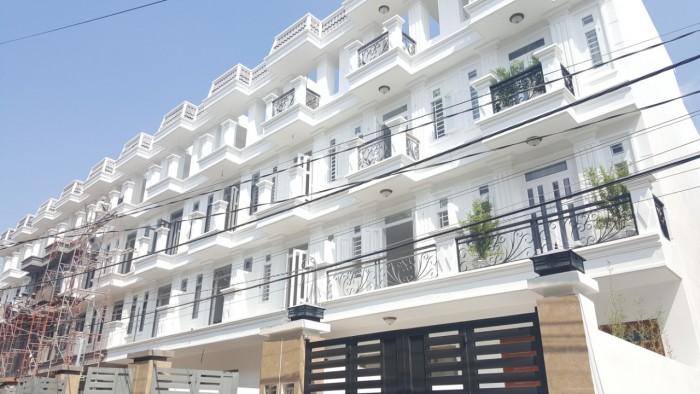 Bán nhà mới 4x17m Tô Ngọc Vân hẻm 8m, sổ hồng chính chủ Ngay chợ