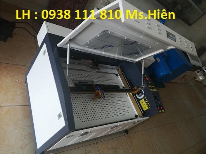 Máy cắt khắc laser 6040, máy laser khắc dấu cao su, máy laser cắt mica1