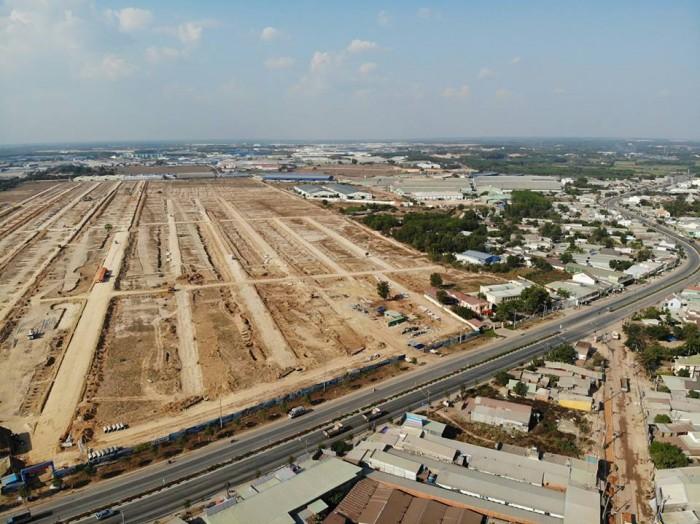 Bán gấp lô đất nằm ngay mặt tiền ĐT 746 khu Nam Tân Uyên