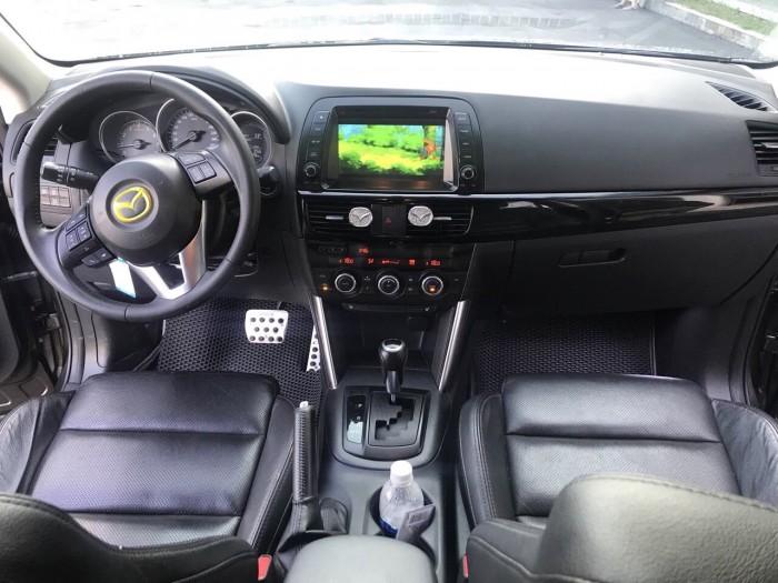 Bán Mazda CX-5 2.0AT màu nâu Titan số tự động sản xuất 2015 một chủ