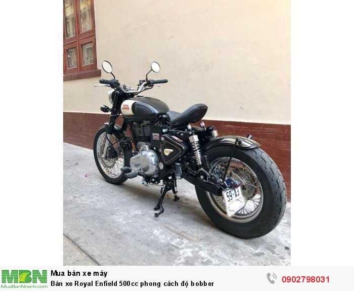 Bán xe Royal Enfield 500cc phong cách độ bobber