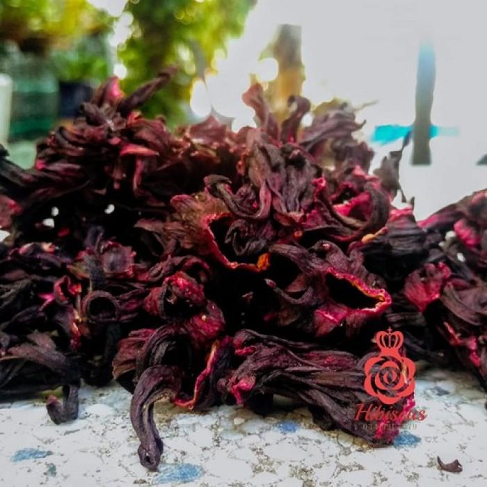 Sỉ 10kg hoa atiso đỏ khô3