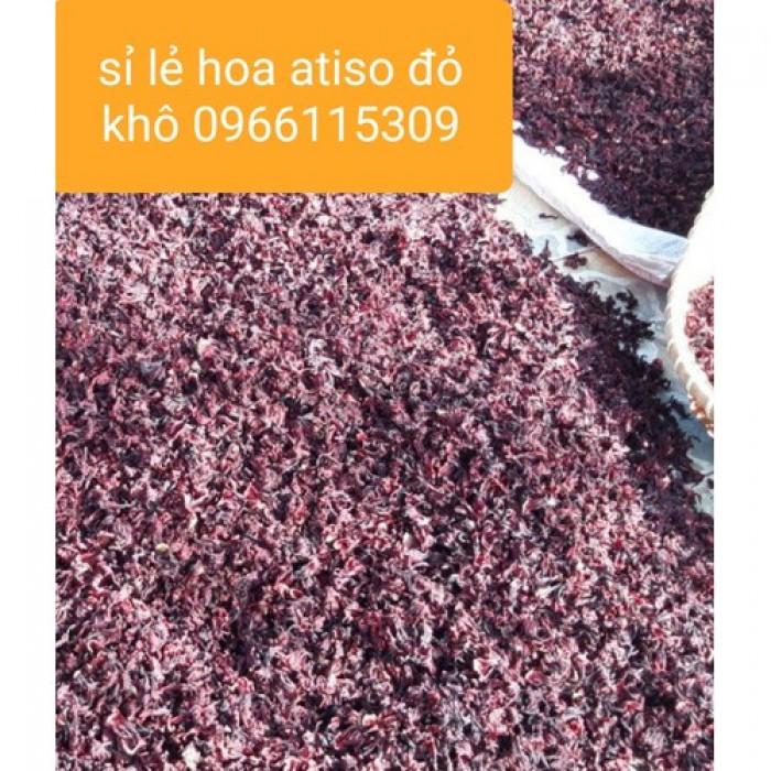 Sỉ 10kg hoa atiso đỏ khô1